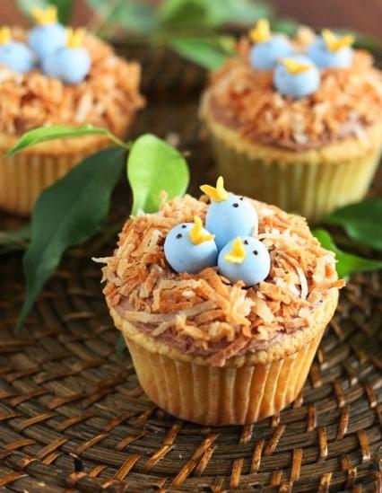 birds nest cupcakes 7