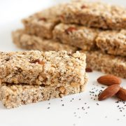 almond+poppy+seed+granola+bars