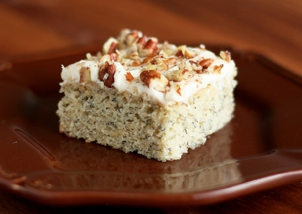 Banana bars with cinnamon cream cheese frosting cooking classy