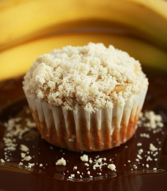 Banana Crumb Muffins - Cooking Classy