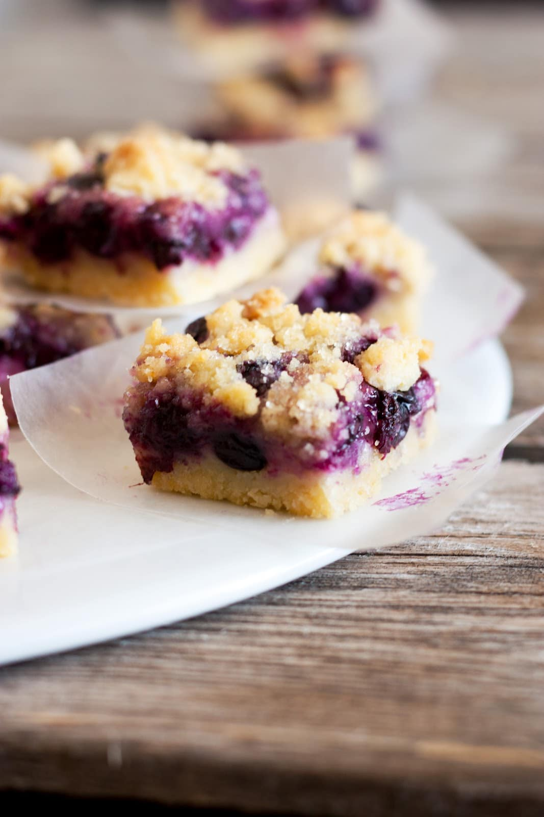 Blueberry Crumb Bars Recipes — Dishmaps