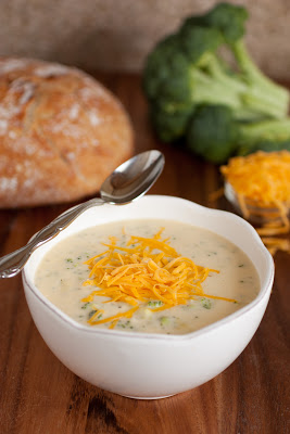 My Favorite Broccoli Cheese Soup