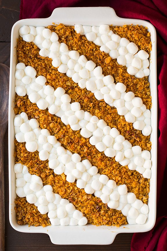 Browned Butter Sweet Potato Casserole | Cooking Classy