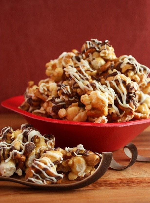 print fancy caramel popcorn ingredients 1 3 cup un popped popcorn