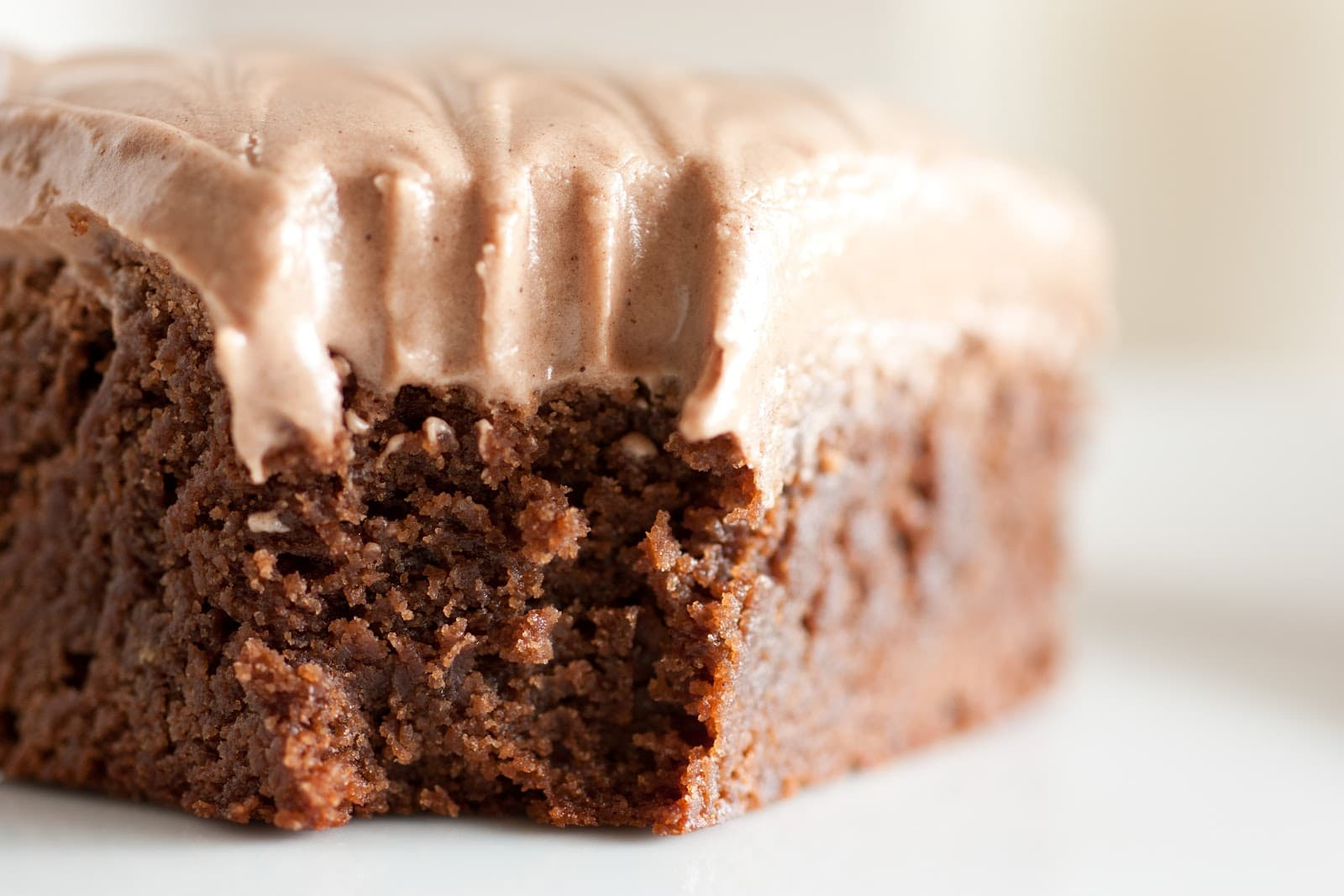 Old Fashioned Ultra Chewy Brownies with Chocolate Cream Cheese ...