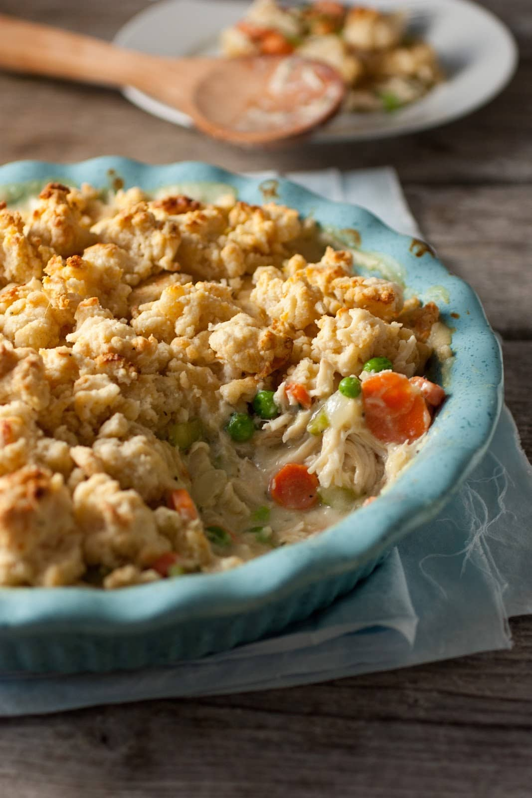 Chicken Pot Pie Crumble - My Favorite Pot Pie