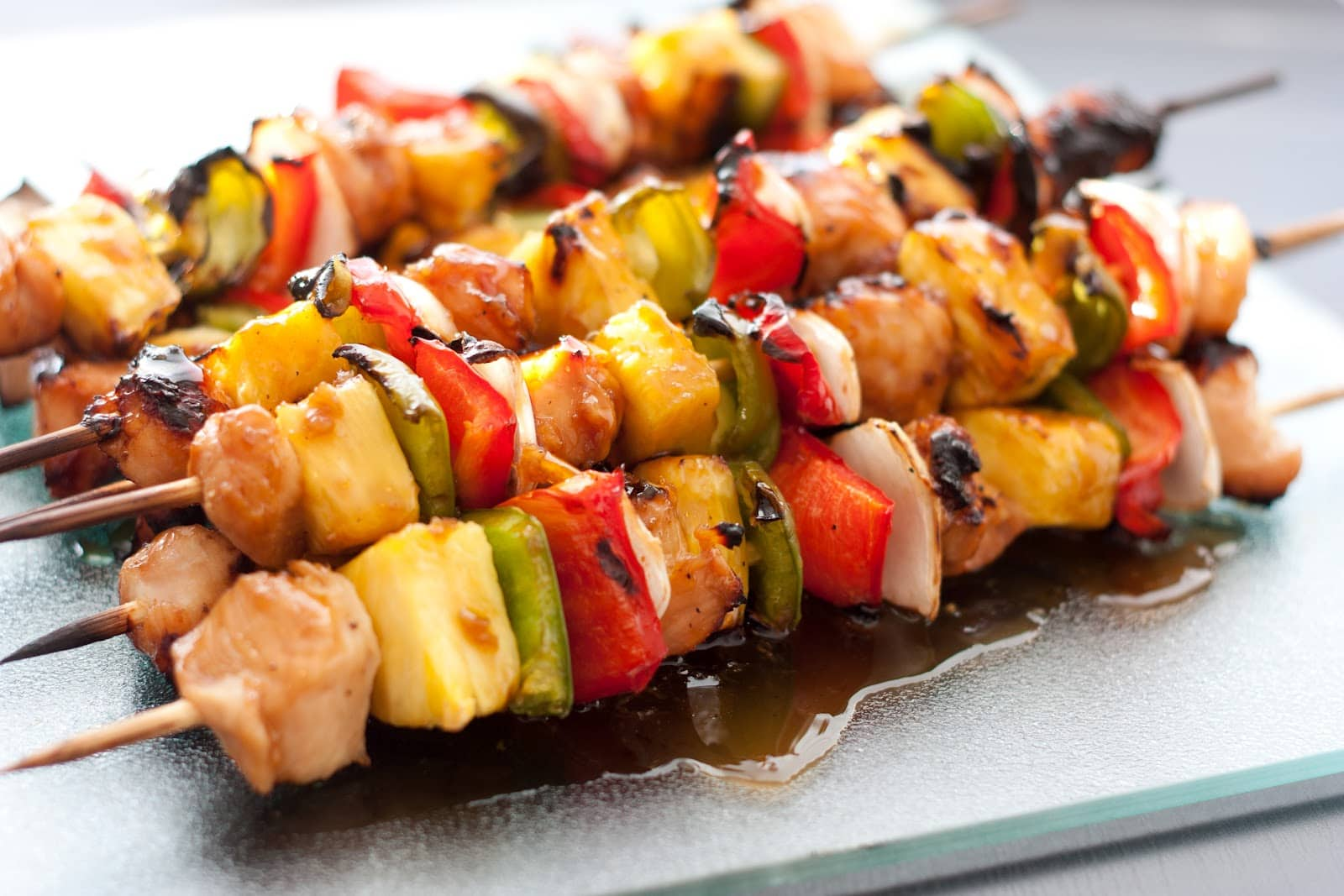 Grilled Chicken Teriyaki Kebobs Cooking Classy