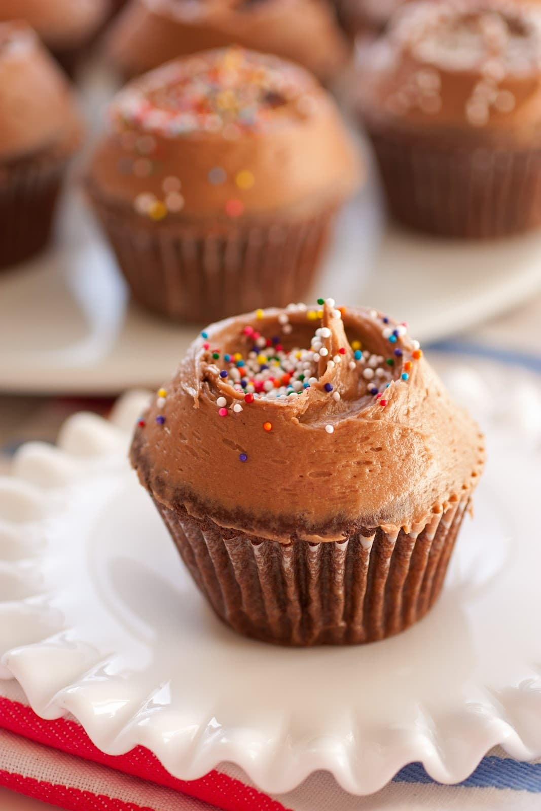 Chocolate Cupcakes with Chocolate Cream Cheese Frosting - Cooking ...