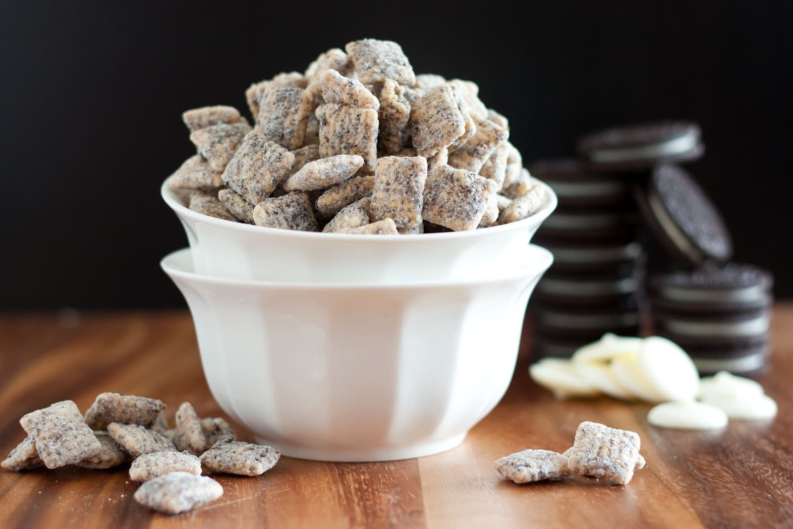 Cookies And Cream Muddy Buddies Cooking Classy