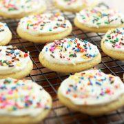 cornbreadsugarcookieswithhoneybutterfrosting