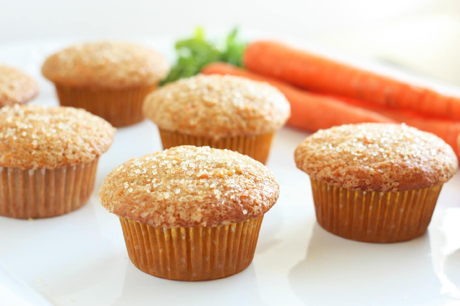 Easy Carrot Cake Muffins Without Oil