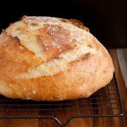 Crusty Rustic Bread It S No Knead