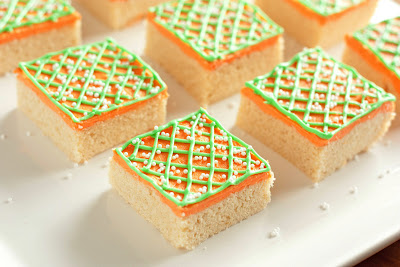 Easter Sugar Cookie Squares
