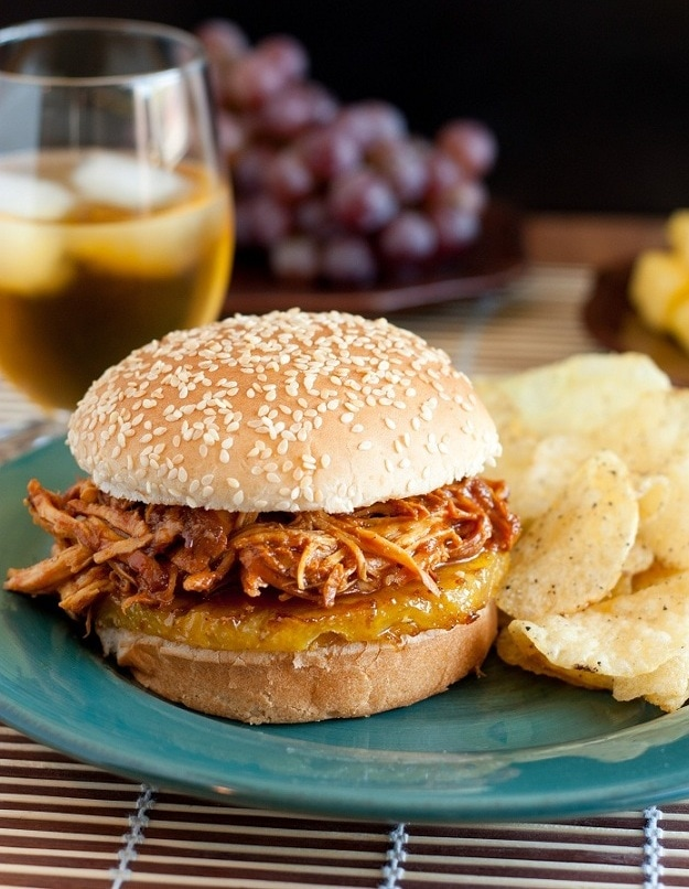 ... BBQ Pulled Chicken Sandwiches (Slow Cooker Recipe) - Cooking Classy