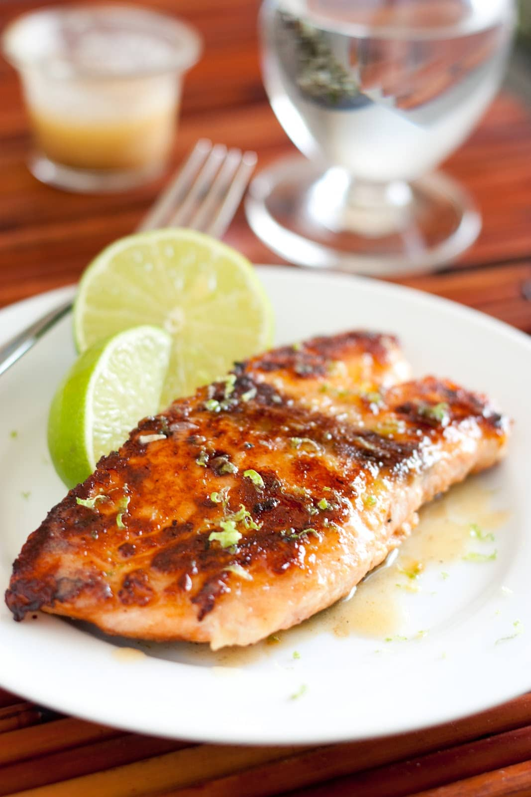 Sweet and Tangy Glazed Salmon with Orange-Almond Rice Sweet and Tangy Glazed Salmon with Orange-Almond Rice new images