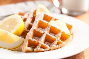 lemon+belgian+waffles - Cooking Classy