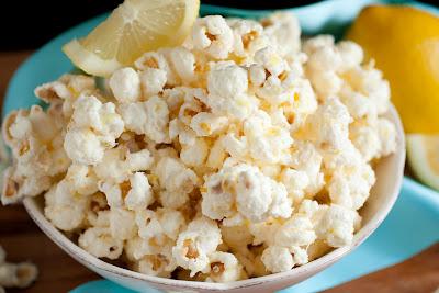 Irresistible White Chocolate Lemon Popcorn
