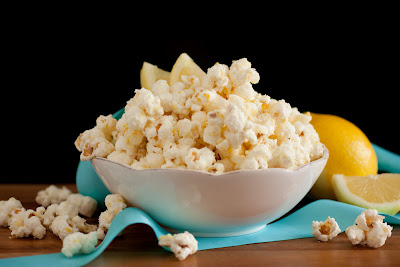 Irresistible White Chocolate Lemon Popcorn