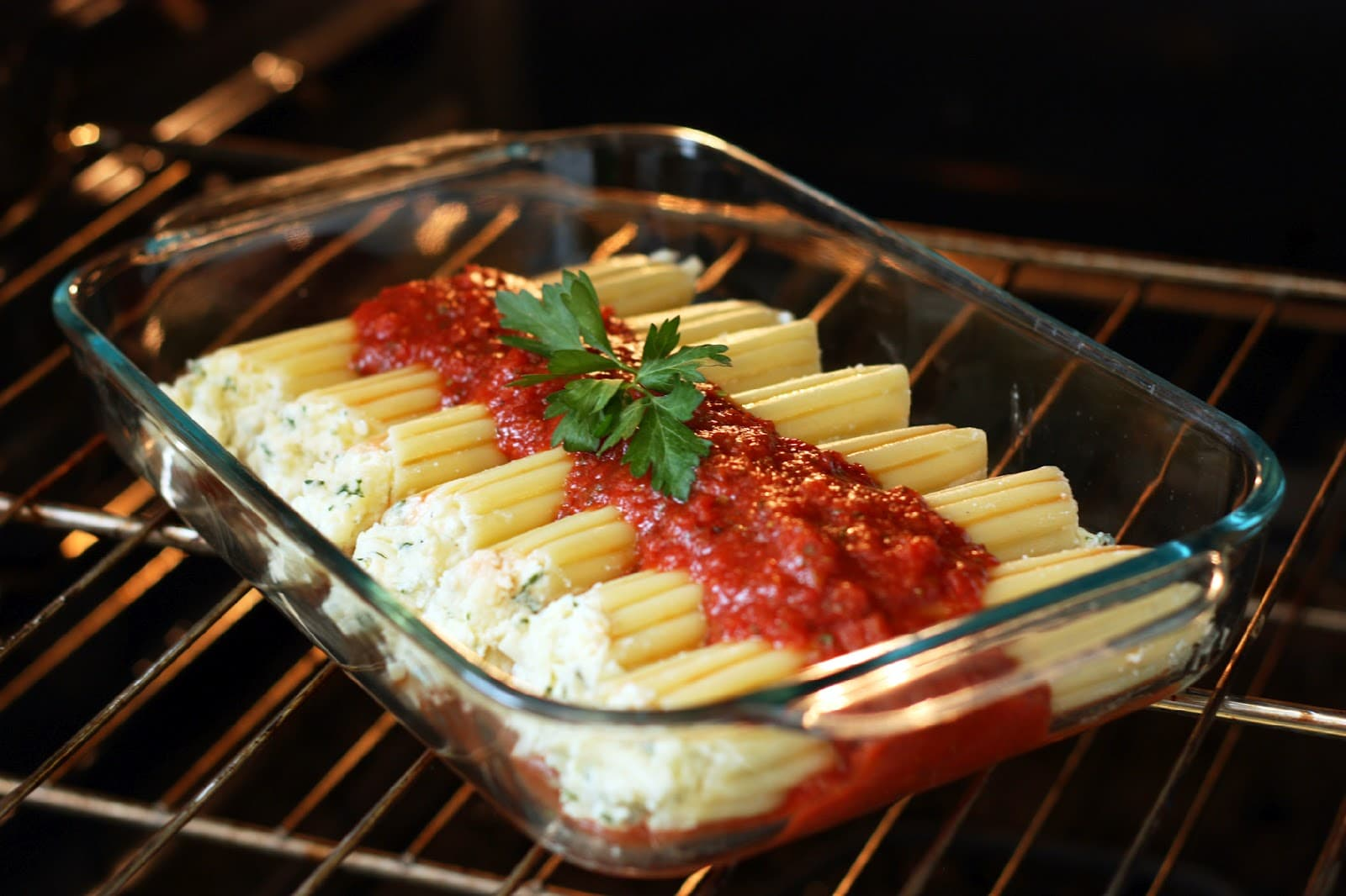 Manicotti a simple yet incredible entree cooking classy for Entrees simples