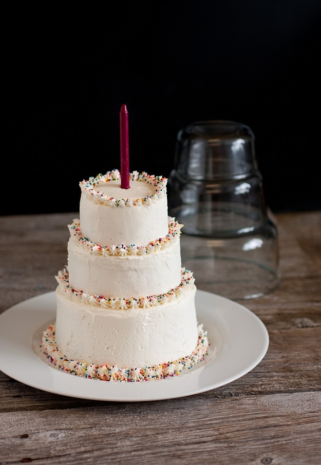 Cake With Buttercream Icing Storage : Vanilla Buttercream Frosting - Cooking Classy