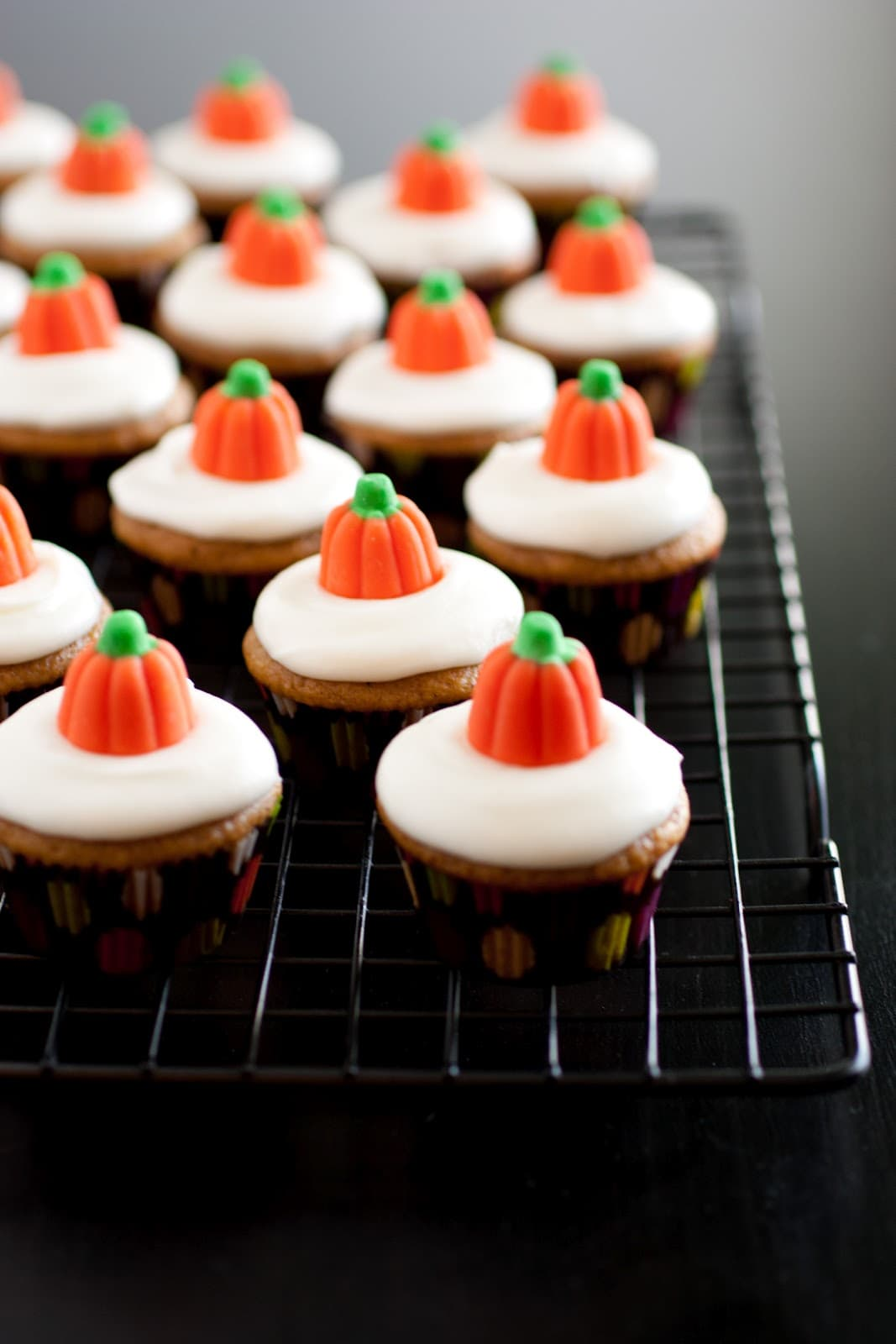 Pumpkin Cupcakes Mini Pumpkin Cupcakes With Cream Cheese Frosting  Cooking Classy