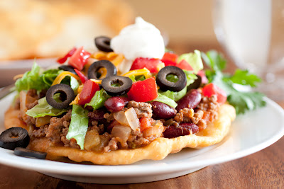 Mom's Navajo Tacos and Indian Fry Bread