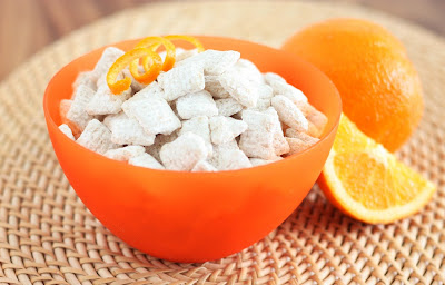 Orange Creamsicle Buddies (Variation on Muddy Buddies)