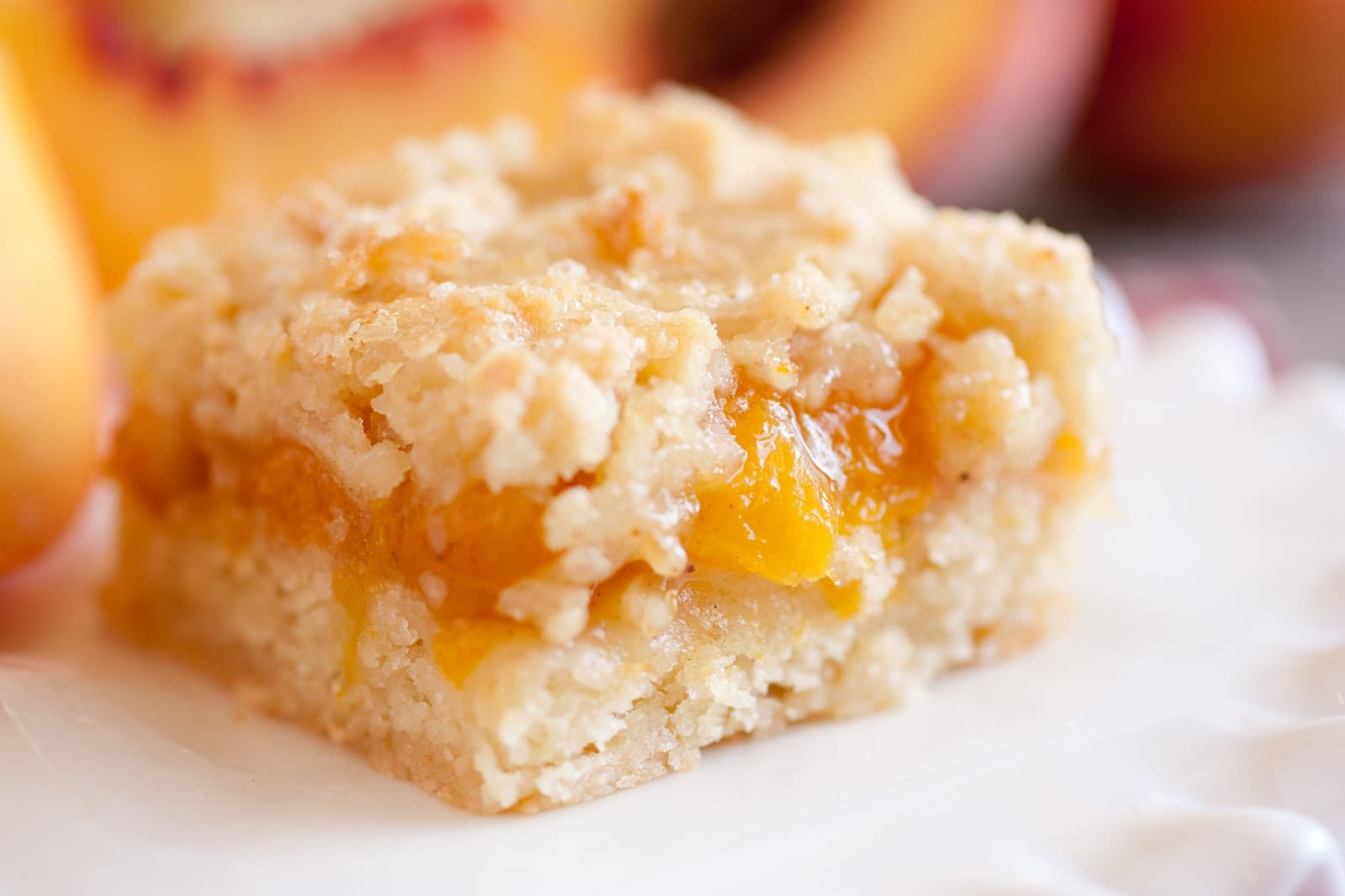 Simple Peach Cake Recipe