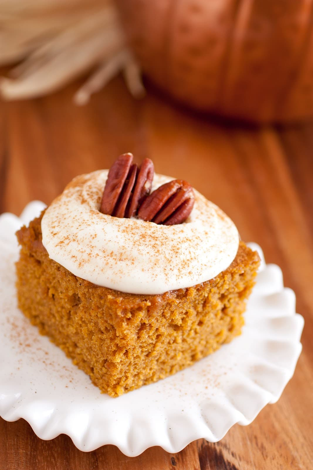 Cooking Light Pumpkin Cake With Cream Cheese Frosting