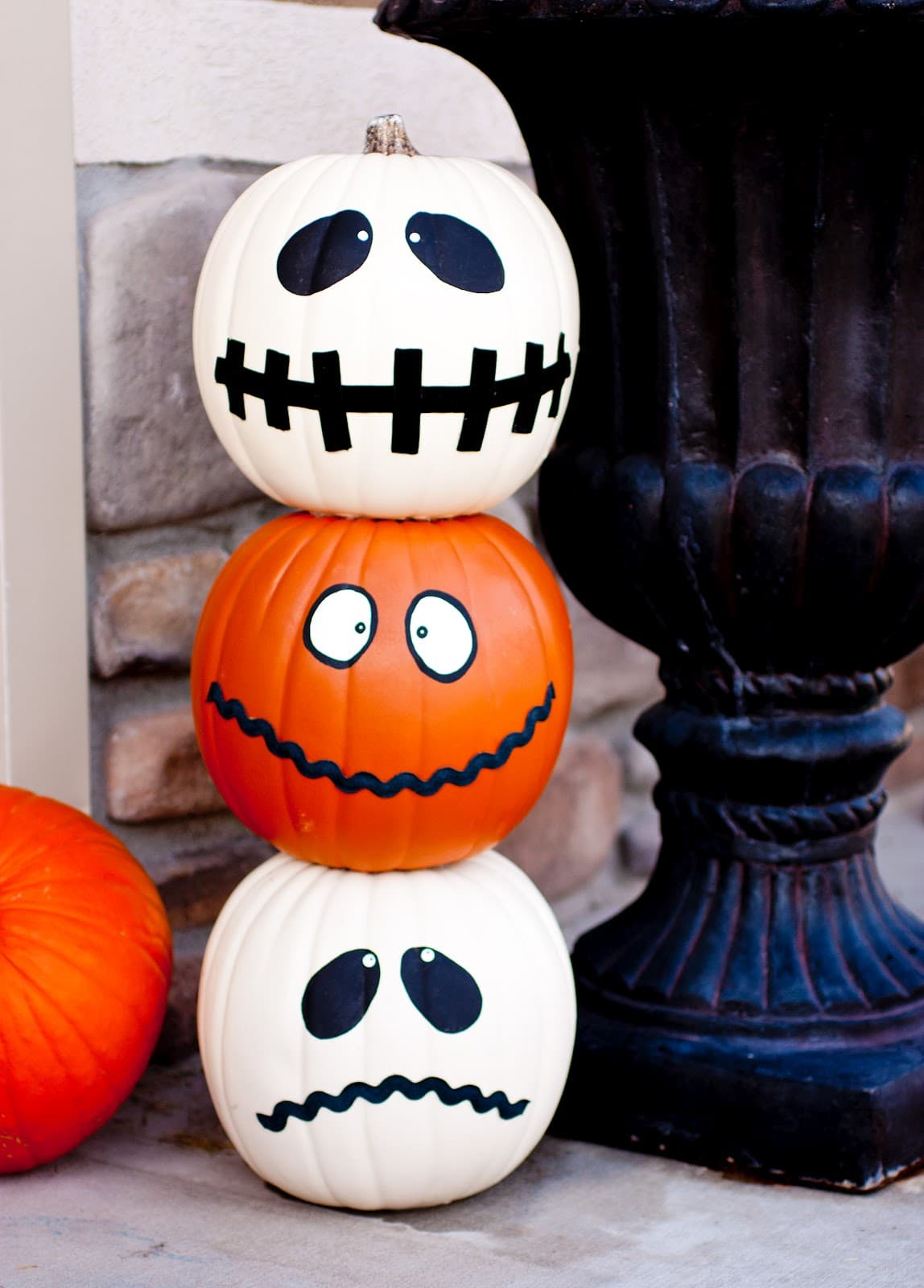 Decoration De Citrouille Peinture : Halloween jack o totum craft and a huge roundup