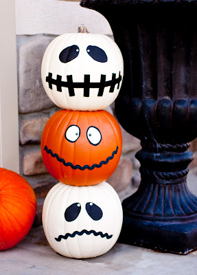 Halloween jack o 39 totum craft and a huge halloween roundup - Deco citrouille halloween ...