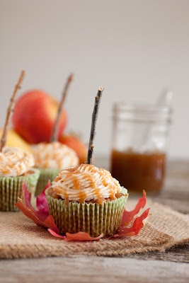 Salted Caramel Apple Cupcakes