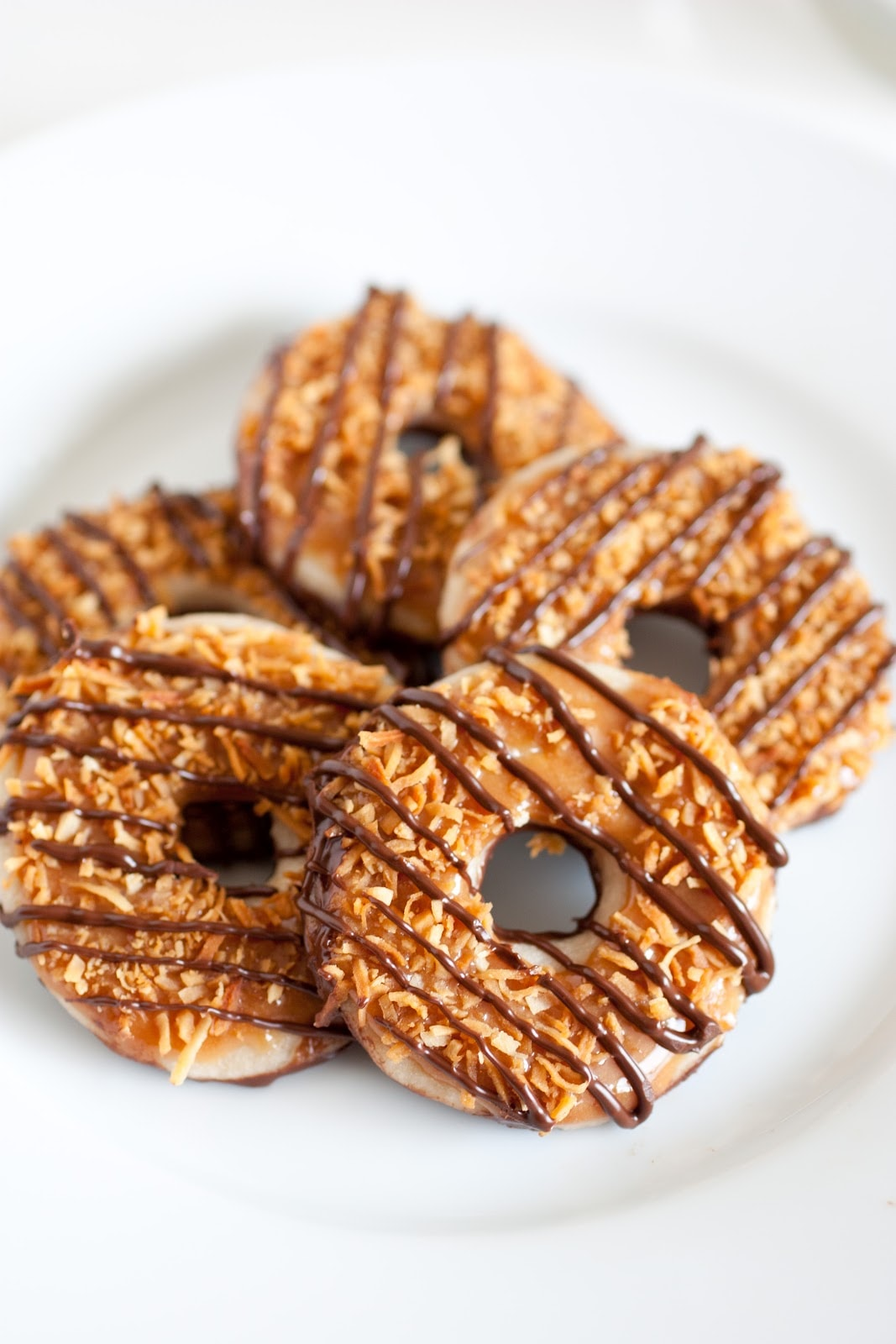 Copycat samoa girl scout cookies cooking classy - Ingenious uses for cornstarch ...