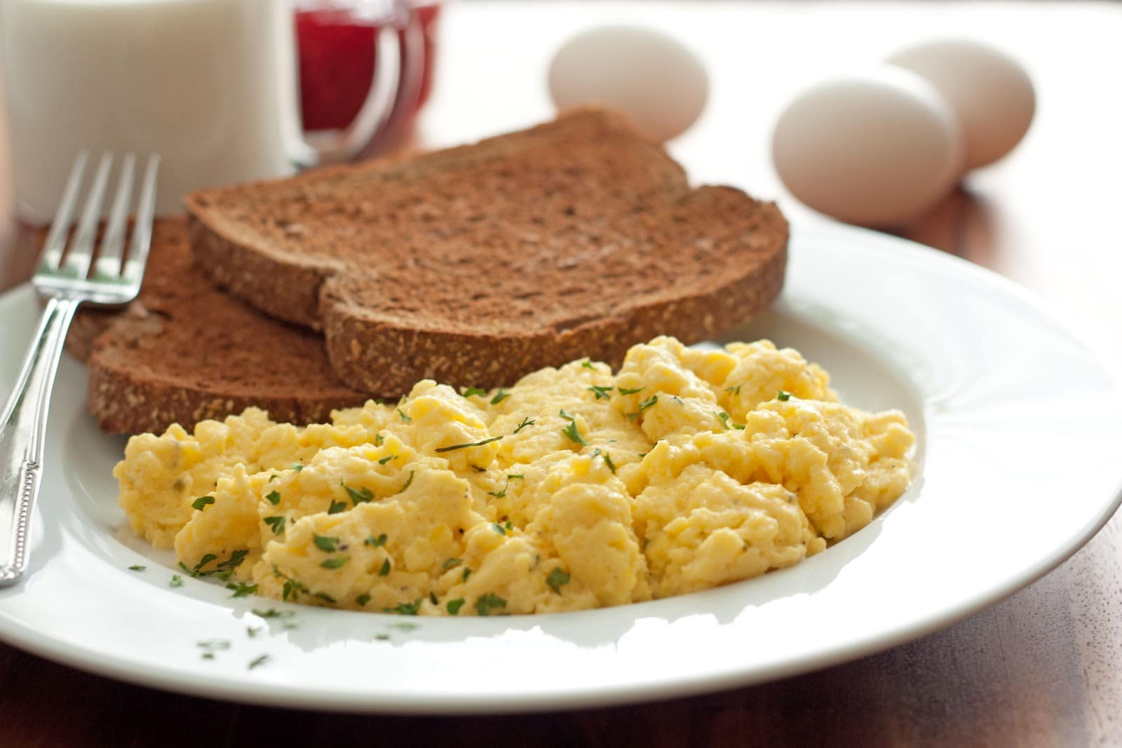 My Idea Of The Perfect Scrambled Eggs Cooking Classy