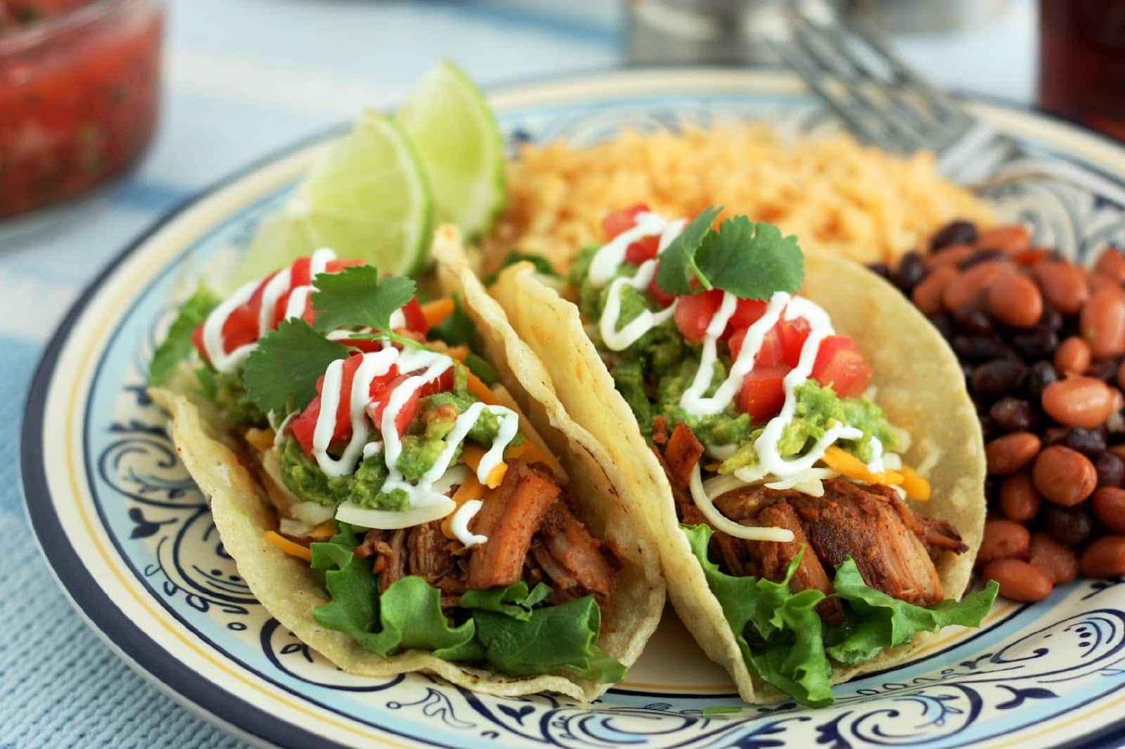 Slow Cooker Pork for Tacos - Cooking Classy