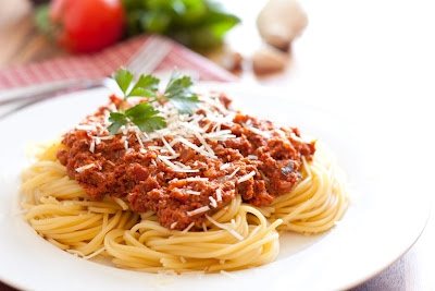With the right diet plan you'll be able to eat most foods including carb-heavy dishes like spaghetti.