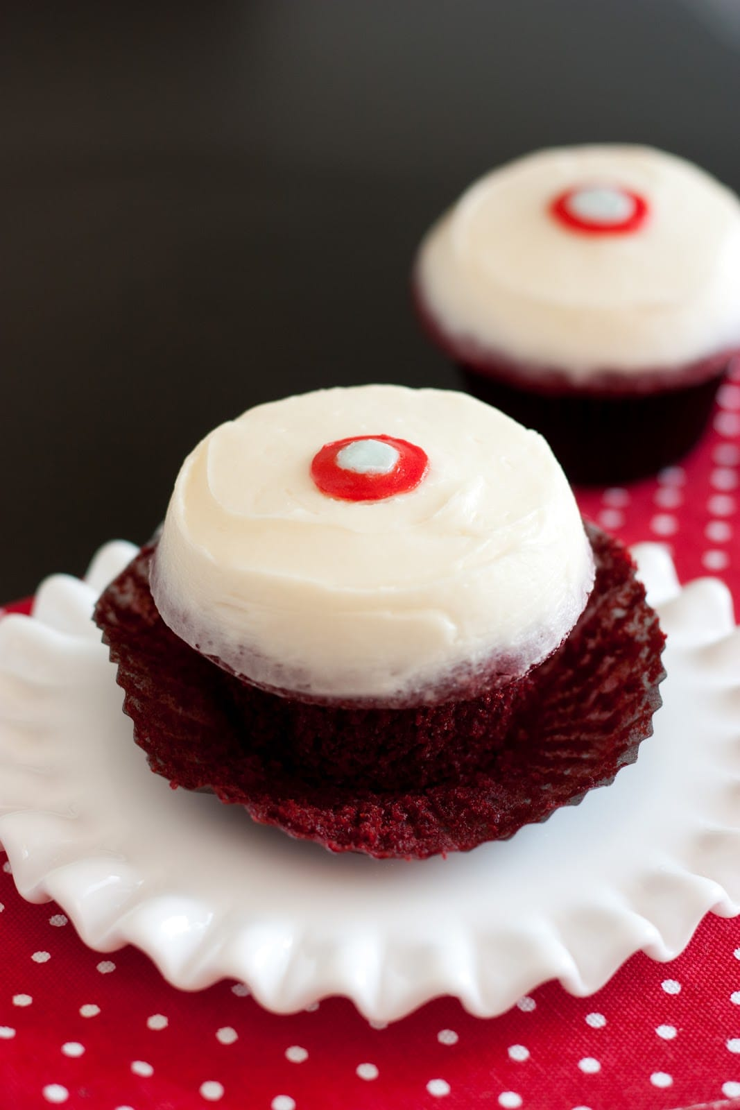 how to cook red velvet cupcakes