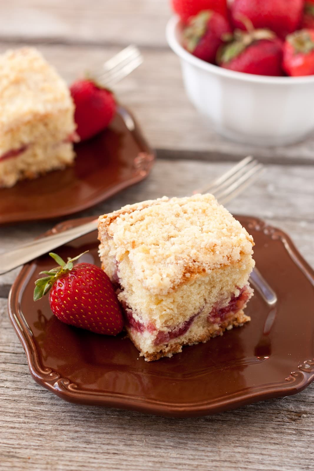 Strawberry Coffee Cake - Cooking Classy