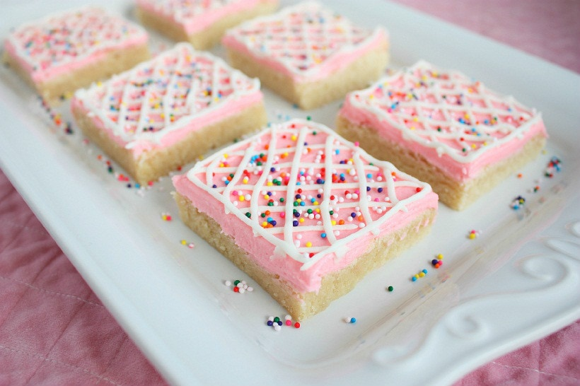 Sugar Cookie Squares - Cooking Classy