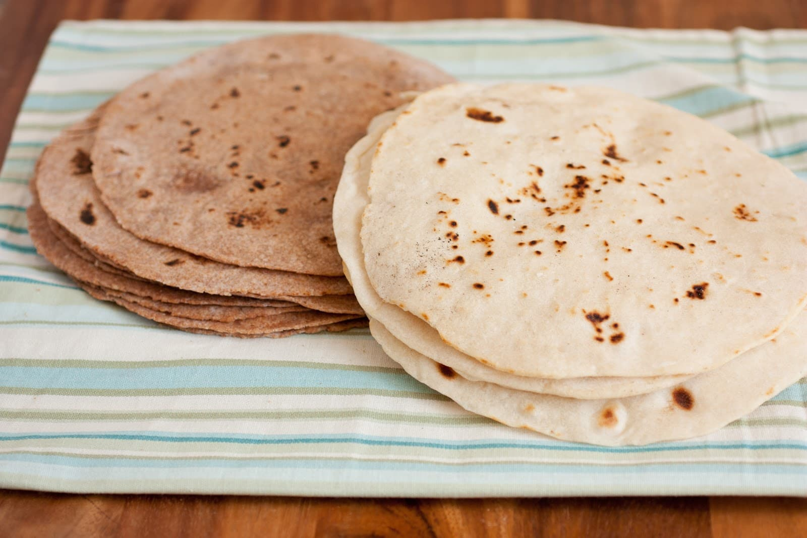 Homemade Tortillas - White and Whole Wheat Recipes - Cooking Classy
