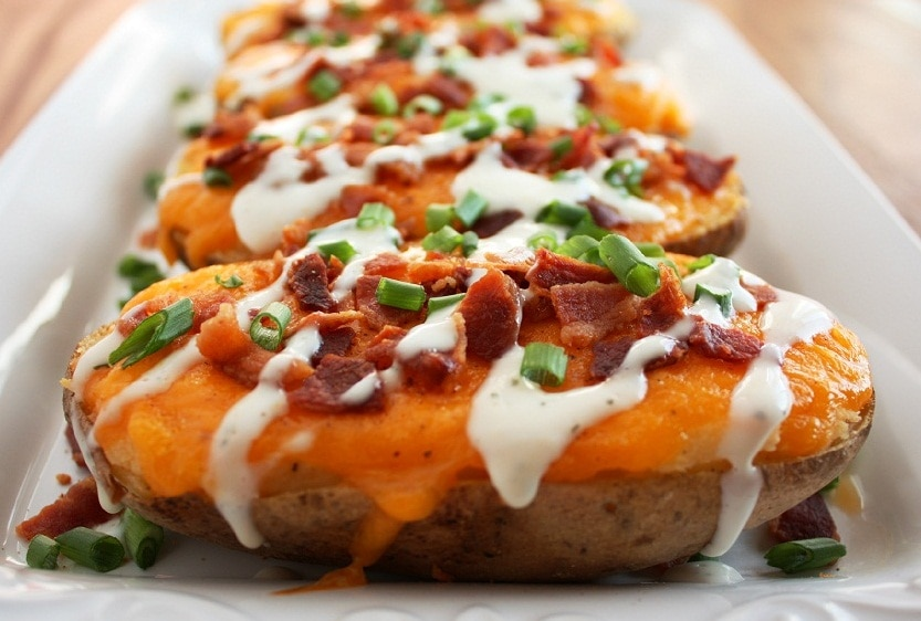 twice baked potatoes loaded baked potatoes cooking 12446