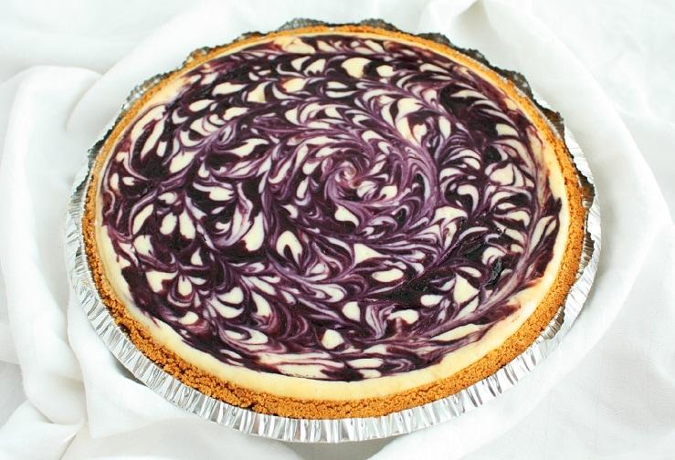 Lemon Blueberry White Chocolate Cake