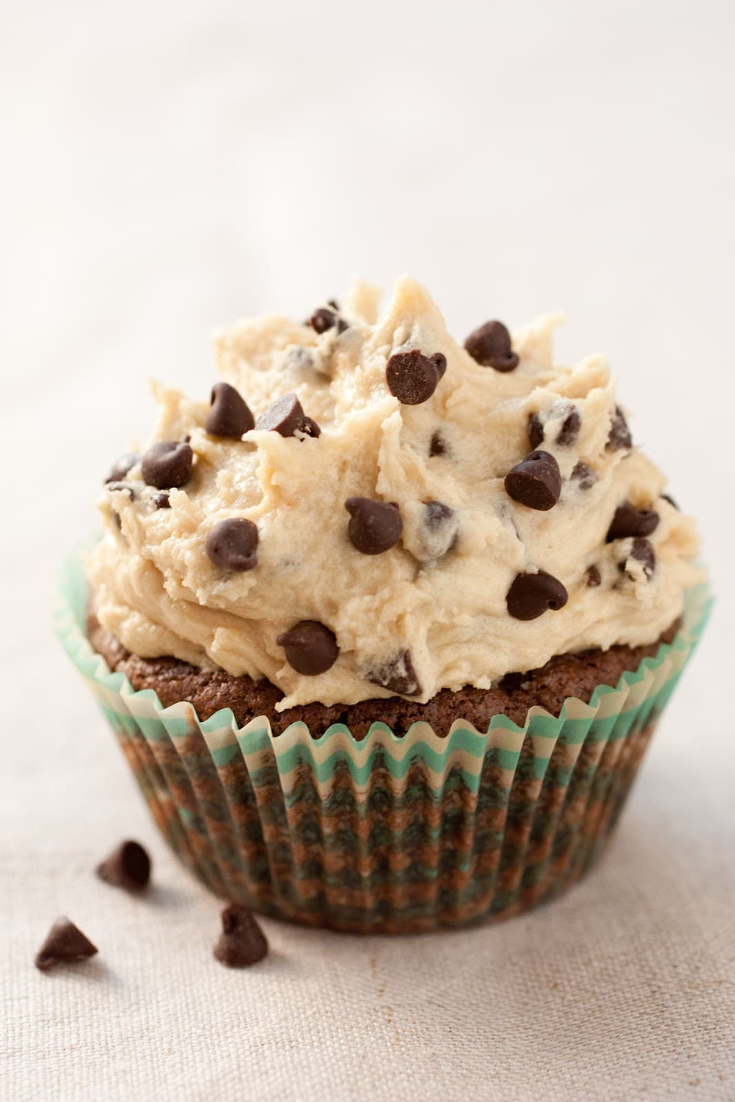 print brownie cupcakes with cookie dough frosting yield 12 cupcakes