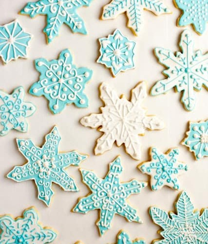 Iced Sugar Cookies Cooking Classy