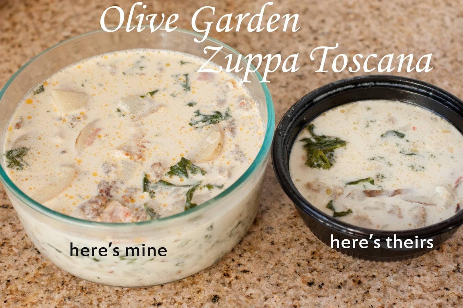 Zuppa Toscana Olive Garden Recipesbnb