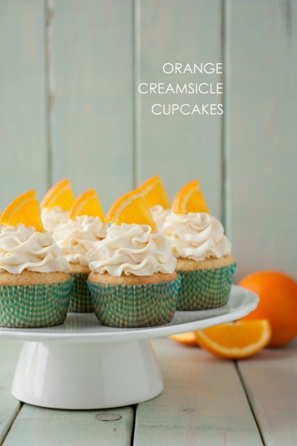 orange creamsicle cupcakes5