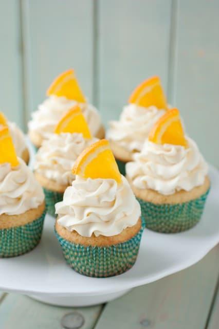 orange creamsicle cupcakes6