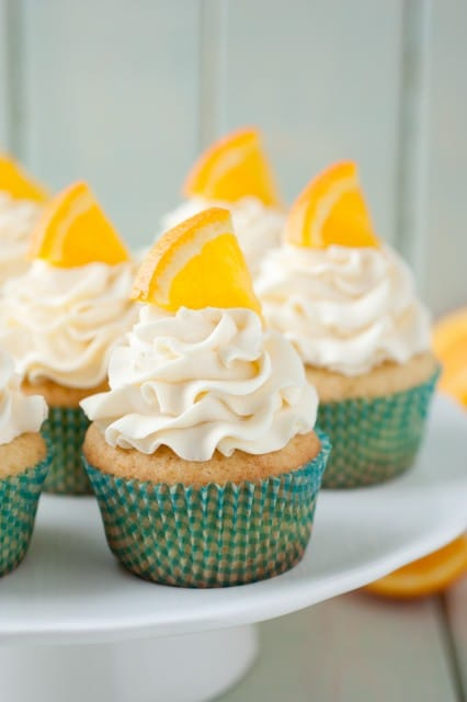 Orange Cupcakes orange creamsicle cupcakes - cooking classy