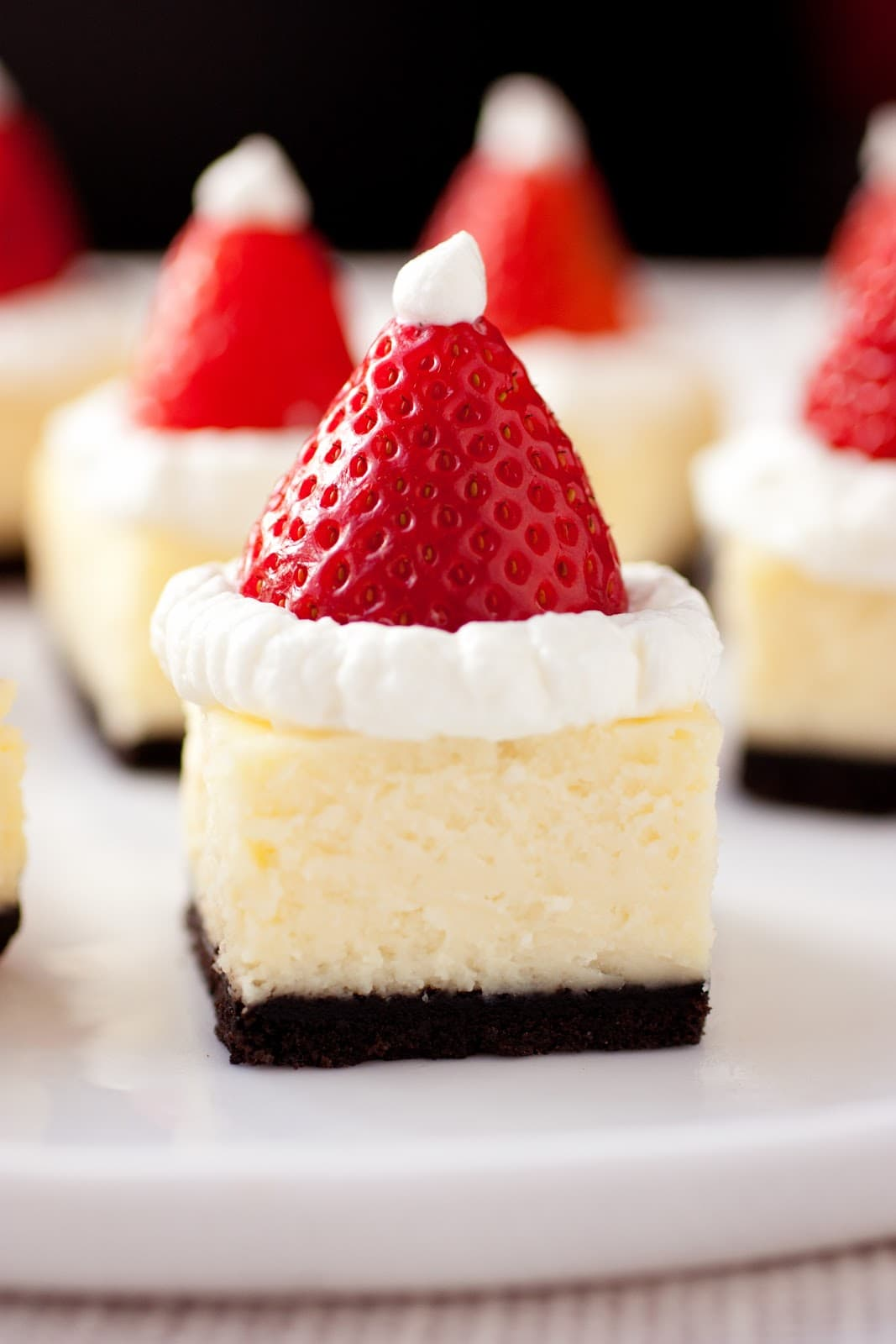 Strawberry And White Chocolate Mini Cheesecakes Recipes — Dishmaps