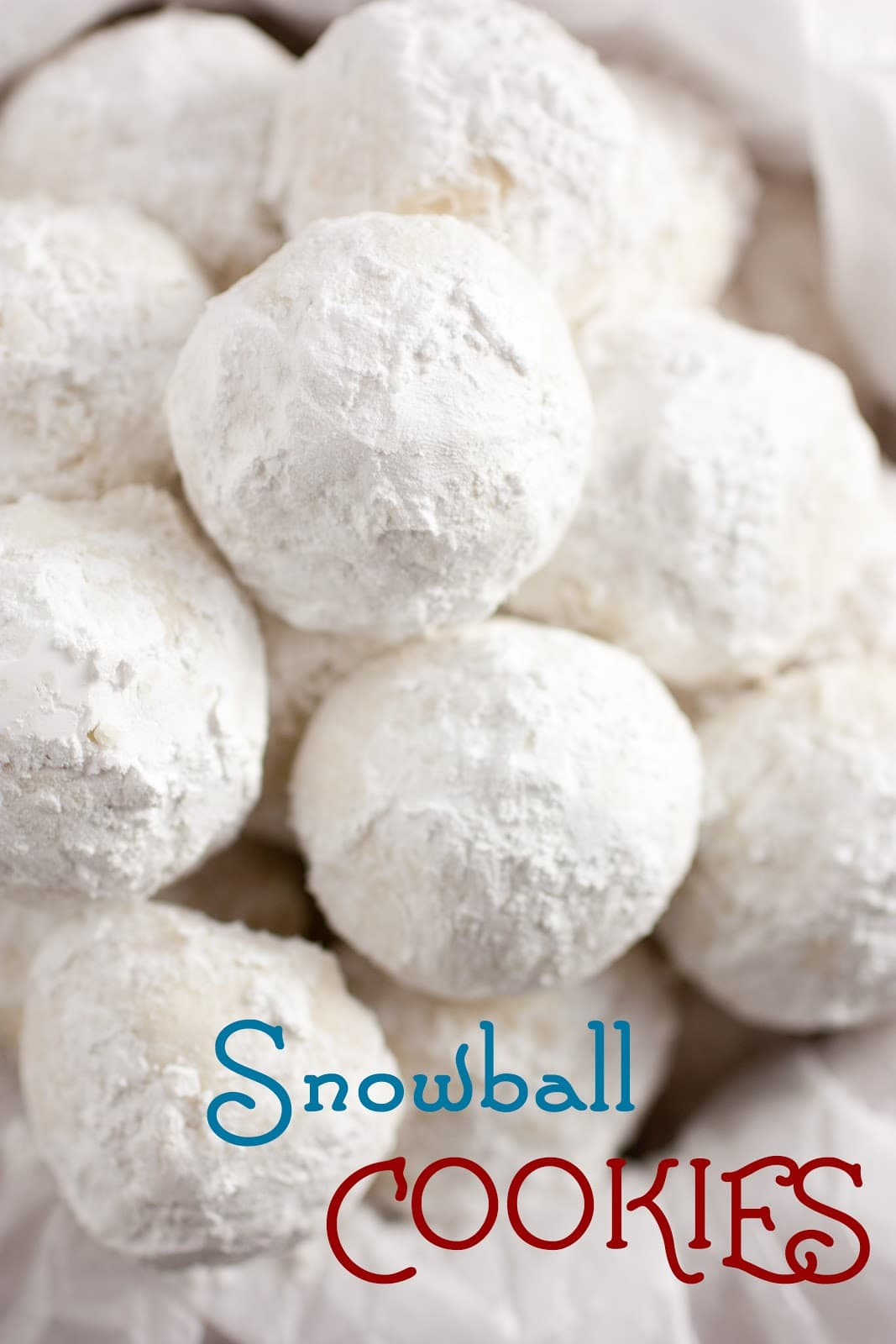 Snowball cookies recipe without nuts